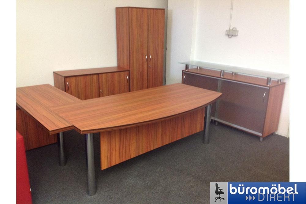 Chefzimmer London Kirschbaum - Büromöbel DIREKT Frankfurt