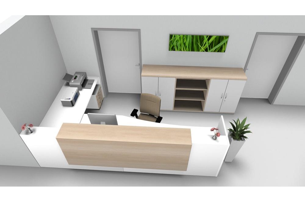 Großartig Büromöbel Empfangsbereich Ideen - Die Kinderzimmer ...