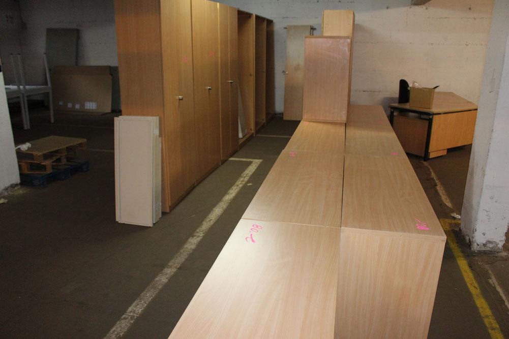 CEKA Aktenschrank 5 Ordnerhöhen - Büromöbel DIREKT Frankfurt