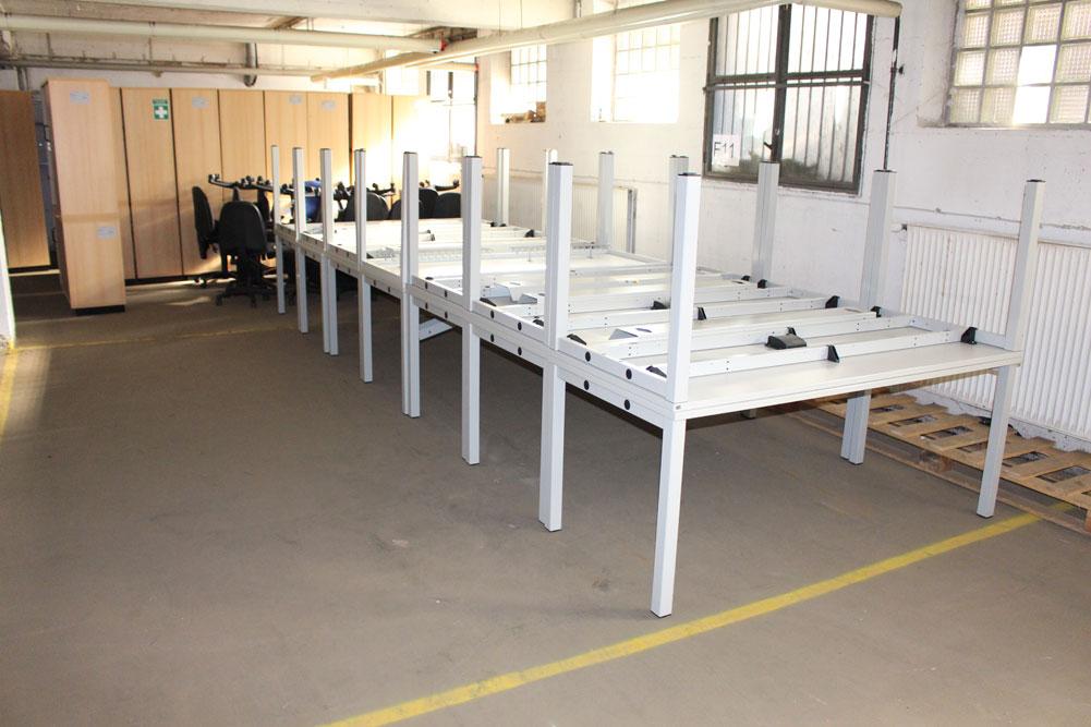 Schreibtisch 180 x 80 - Büromöbel DIREKT Frankfurt