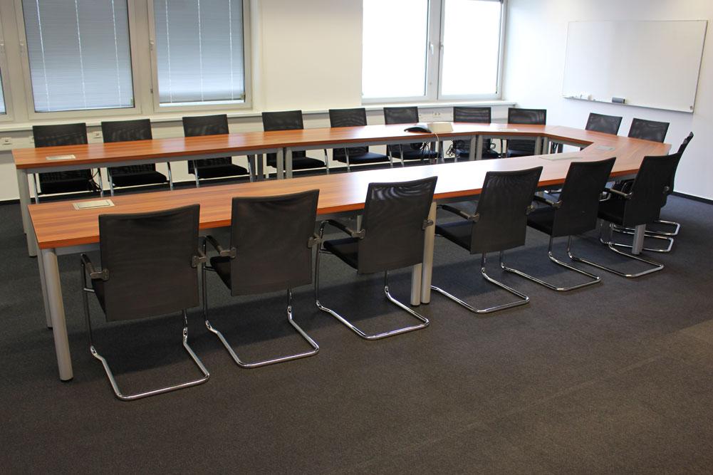 Konferenztisch Merano Natur - Büromöbel DIREKT Frankfurt